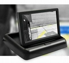 "Foldable Car Digital Display 4.3"""