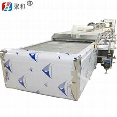 通過式高壓噴淋清洗烘乾設備