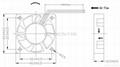40x40x10mm DC Cooling Fan 12V 24V dc fan  3