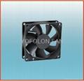 80x80x25mm 12V/24V DC Cooling Fan CPU cooler fan 2