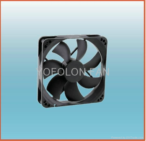 120x120x25mm LED Board DC Cooling Fan 5V/12V axial flow fan 2