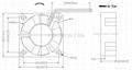 30x30x10mm Mini DC Axial Cooling Fan High speed 12V micro fan 3