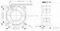 40x40x20mm DC Cooling Fan 12V  high speed 40mm axial fan  3