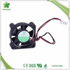30x30x10mm Mini DC Axial Cooling Fan High speed 12V micro fan