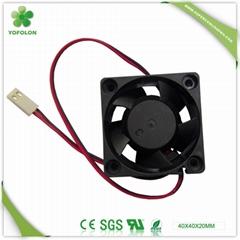 40x40x20mm DC Cooling Fan 12V  high speed 40mm axial fan
