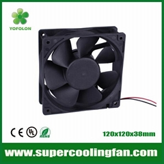 120x120x38mm DC Axial Fan 12V/24V UPS Power Supply Cooling Fans