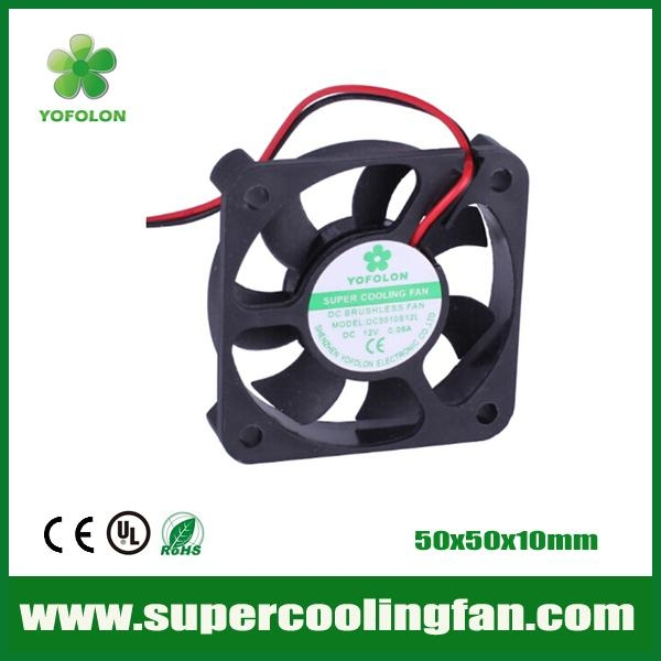 50x50x10mm DC Brushless Fan 12V 24V 50mm dc fan  1