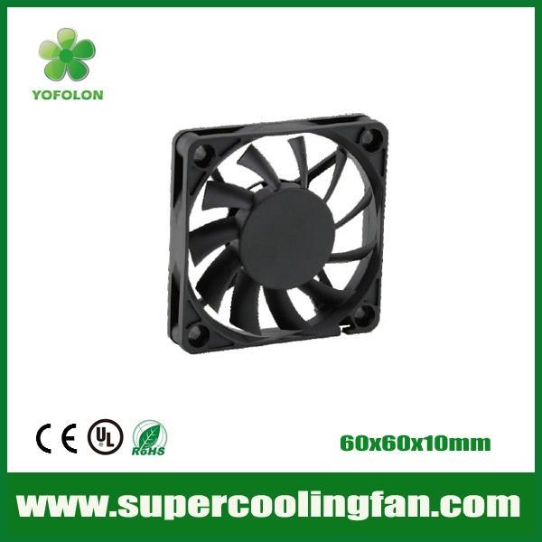 60x60x10mm 12V/24V DC Cooling Fan 3D Printer cooling fan 1
