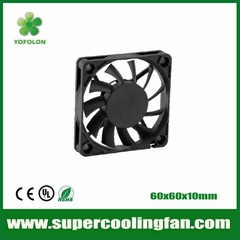 60x60x10mm 12V/24V DC Cooling Fan 3D Printer cooling fan