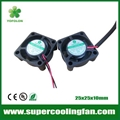 25x25x10mm 5V 12V Mini Cooling Fan 25mm