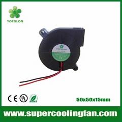 50x50x15mm 12V 24V 3D Printer DC Blower Fan