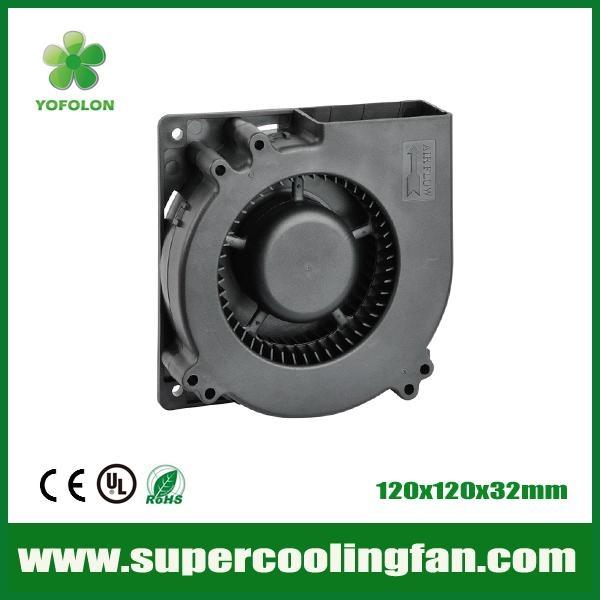 120x120x32mm 12V/24V DC Blower Fan 120mm  blower cooling  fan 1
