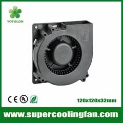 120x120x32mm 12V/24V DC Blower Fan 120mm  blower cooling  fan