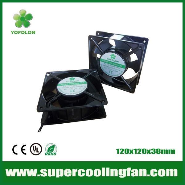 120x120x38mm 220V AC Cooling Fan 120mm 380v AC Motor Fan 1