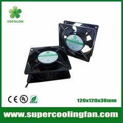 120x120x38mm 220V AC Cooling Fan 120mm 380v AC Motor Fan