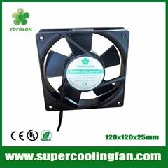 120x120x25mm 120mm AC Cooling Fan 220V/380V AC fan