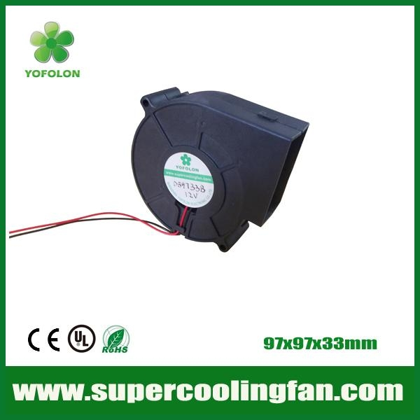 97x97x33mm 12V 24V High flow DC Blower Fan for Car seat cooling blower fan 1