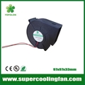 97x97x33mm 12V 24V High flow DC Blower