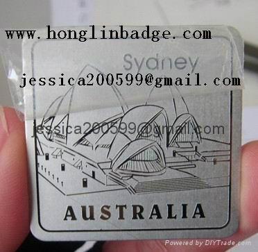 Furniture Badge Label Luggage Badge Metal Tag 43 Hao Jian China Manufacturer Metal