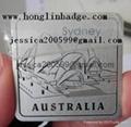 furniture badge label l   age badge metal tag