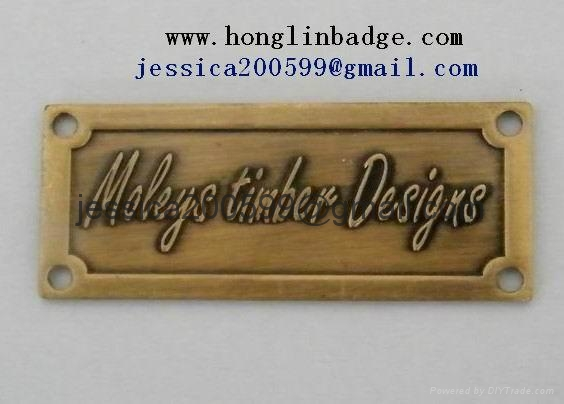 Lovely ... Furniture Badge Label Luggage Badge Metal Tag 2 ...