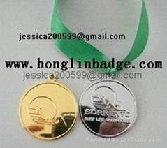 medal sport medal military medal gold or silver plated medal