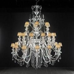 豪華水晶吊燈 工程燈 DTT-12+10+5A698