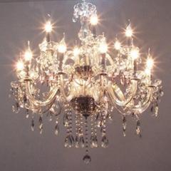 歐式水晶蠟燭燈具 吊燈