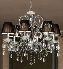 歐式水晶蠟燭吊燈DTT-6A1099