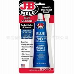 J-B Weld蓝色硅密封剂粘合剂粘接剂J-B Weld 31316_85克