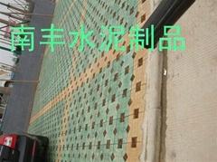 廣西黃色植草磚