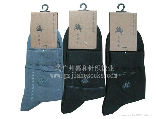 外貿品牌純棉男襪 2