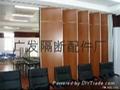 活动隔音屏风适用于酒店会议室办公场所 4