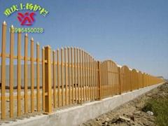 重慶PVC塑鋼柵欄