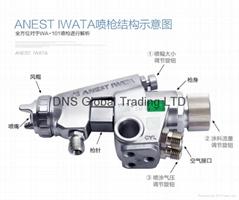 iwata wa-101 automatic spray gun