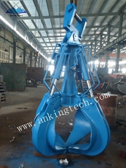 hydraulic orange peel grab For Excavator