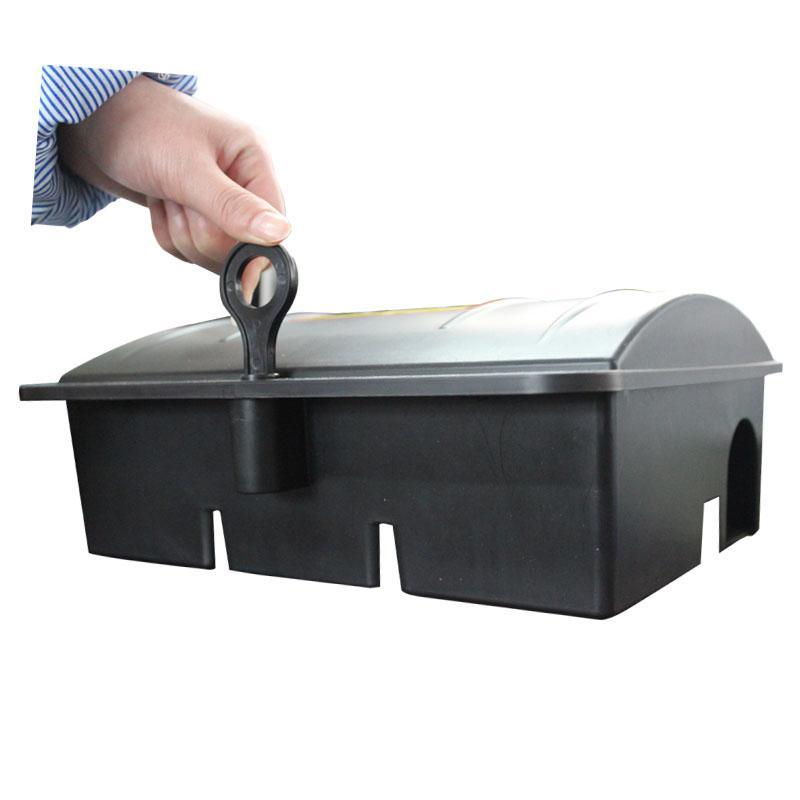 新型大号带锁毒饵盒 2