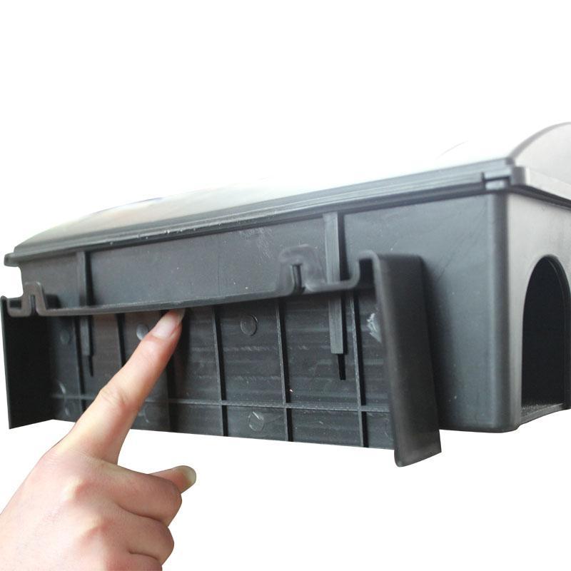 新型大号带锁毒饵盒 5