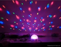 4x3w Plam magic ball laser effect light for wedding club