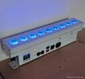 uplighting 5in1 RGBWA led wall washer battery powered led wash lightt