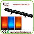 6in1 RGABWUV led wall washer