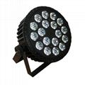 high power 18PCS 15W RGABW led stage lighting