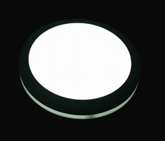 LED round wall lighting,gray lamp housing,warranty for 2year