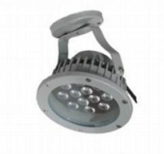 12w exterior LED spot light No.FL096-12W  IP65 with 100-110LM/W