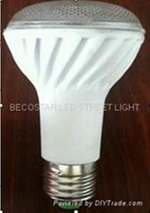 7W 螺旋陶瓷2835LED 燈泡