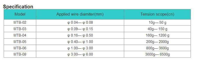 coil winding magnetic damper MTB-02 magnet damper magent tensioner  2