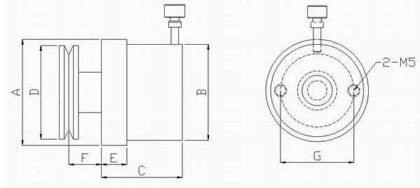 coil winding magnetic damper MTB-02 magnet damper magent tensioner  3