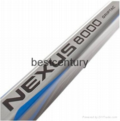 Composite and Carbon Nexus 8000 hockey stick Blade with P92 and Flex 87