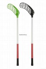 Composite Floorball Hockey Stick with Carbon Fiber and Glass Fiber