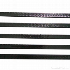 carbon fiber hockey stick shaft with 3k 12k 18k UD surface texture